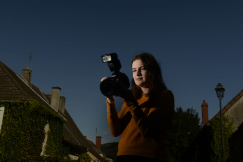 How to use a Canon speedlite flash
