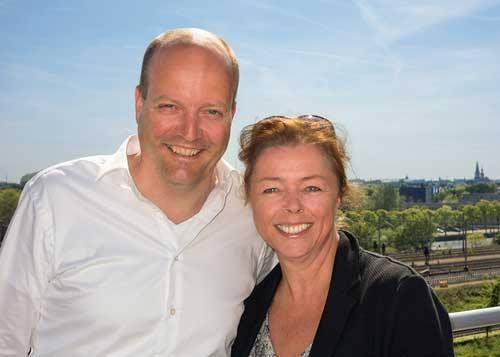 Sonja van Driel and Lars Boering Managing Director WPF