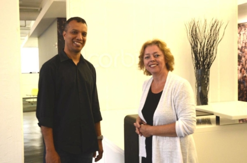 Sonja van Driel interviewing Anil Ramchand of Corbis Images